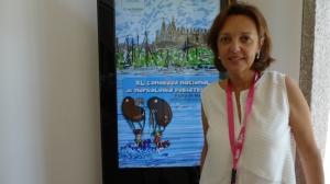 Presidenta del Comité Organizador y responsable de la Unidad de Nefrología Infantil de Son Espases,  María Dolores Rodrigo.